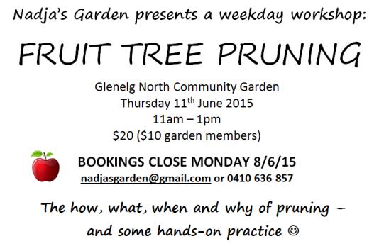 workshop flyer - pruning