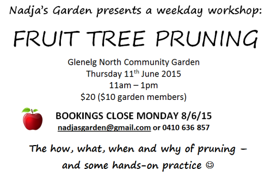 workshop flyer - pruning