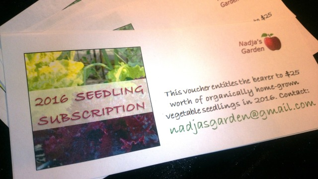 seedling vouchers