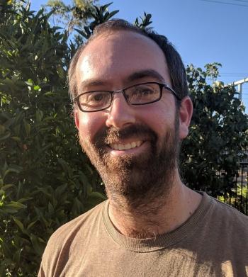 Nat on a home garden visit